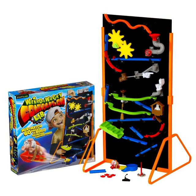 Launch the flying stunt pig! Dream up a contraption Mix and match the pieces Build and test them out! http://www.coolthings.com.au
