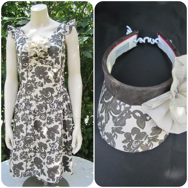 Refreshed dress and visor by Risako.