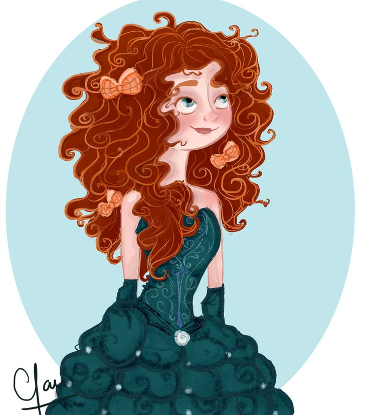 Merida - Disneybound :: new disney princess on board