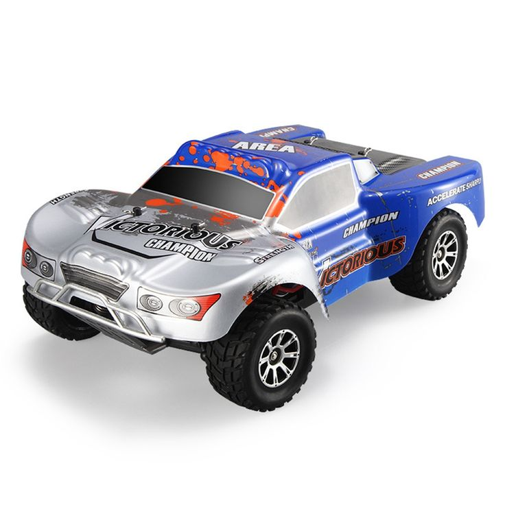 >> Click to Buy << 1:18 Scale RC Car With High Speed 70km/h Sport Toys 2.4G 4WD  RC Short Truck Vehicle Car For Competition Great Outdoor Toys  #Affiliate