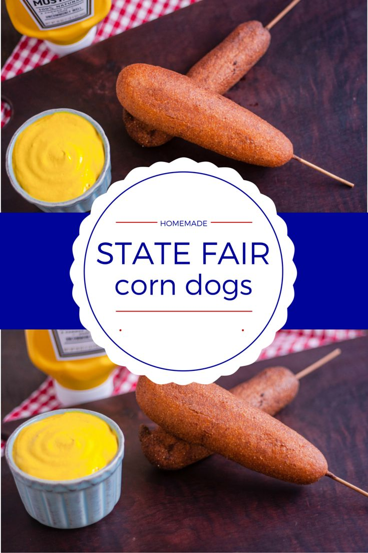 Deep-fried anything is the  epitomy of fairground food. These hand-held crispy and sweet corn dogs are the founding father of the state fair food-on-a-stick craze.