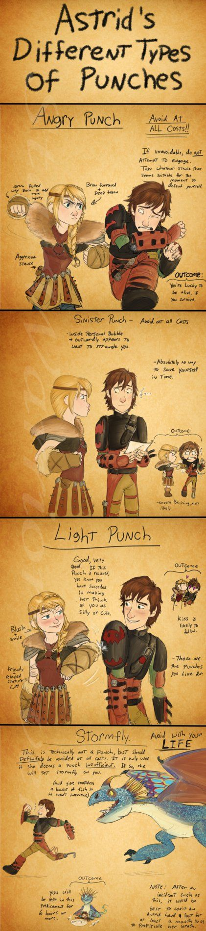 Astridpunches by Starwarrior4ever