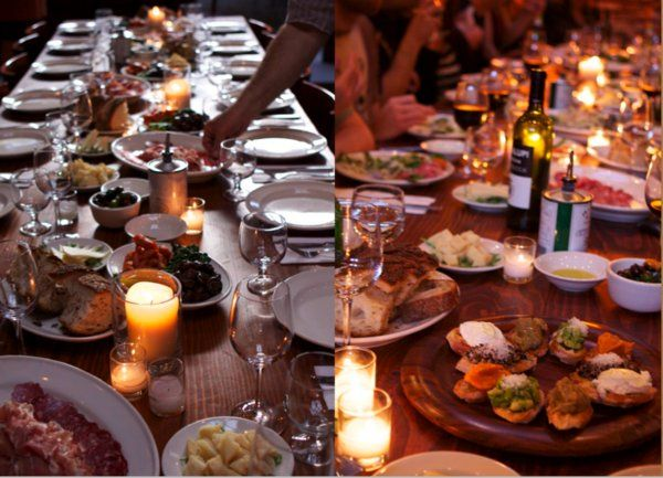 23 best Event Design: Family Style Catering Inspiration images on ...