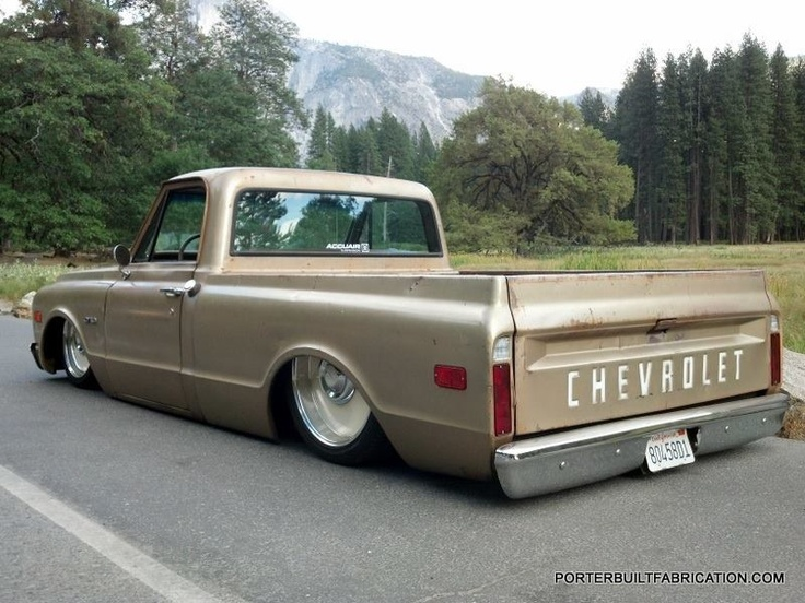 67 72 Chevy C 10 Bagged And Body Dropped Photo Credit