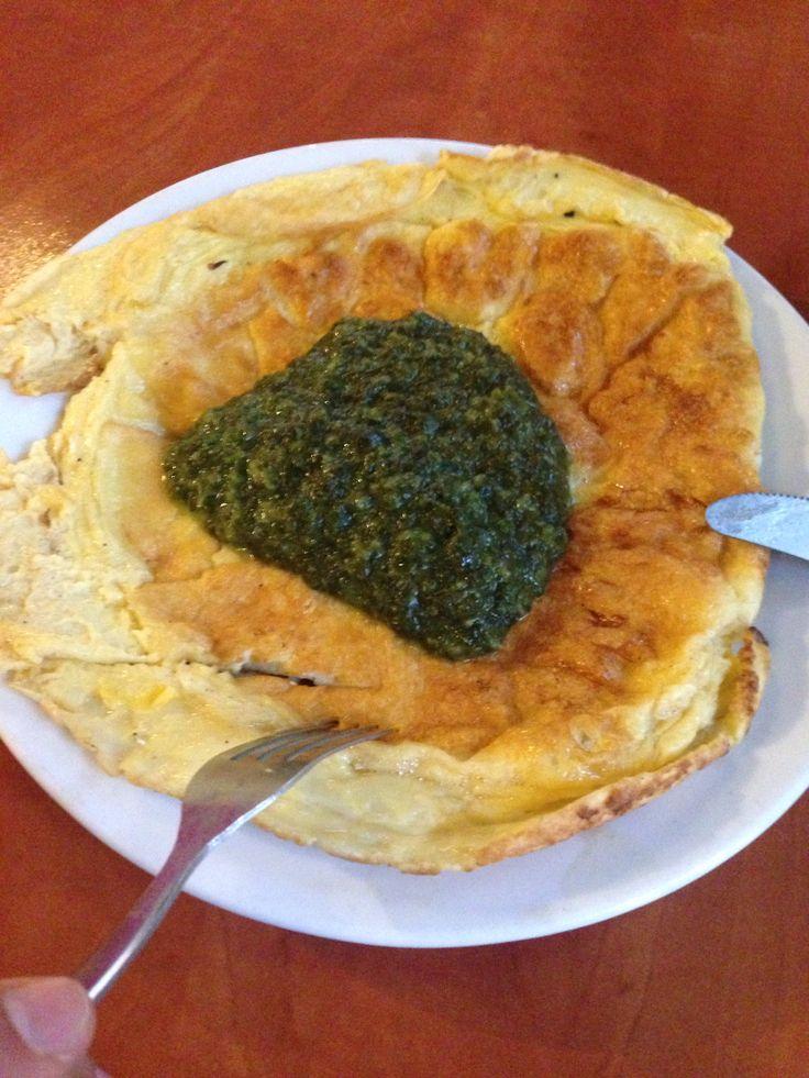 Omlet pod barbakanem :)