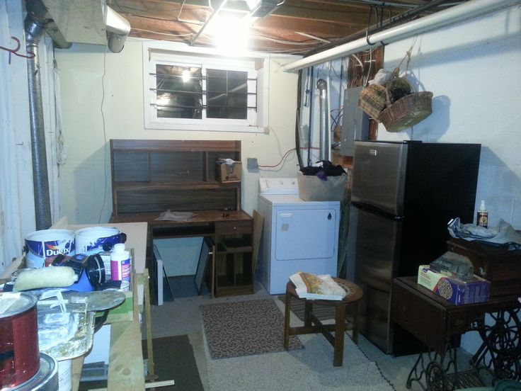 Utility room redesigned.