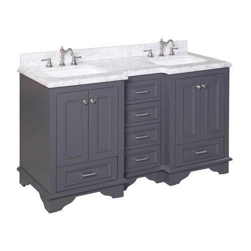 "Found it at Wayfair - Nantucket 60"" Double Sink Bathroom Vanity Set"