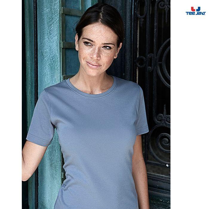 nice T-shirt TeeJays Interlock W