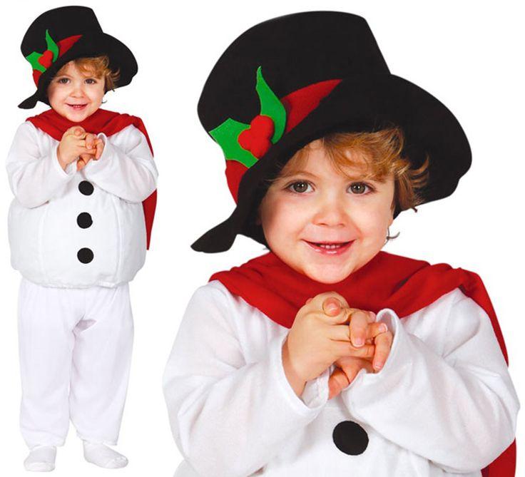 Disfraz de Muñeco de Nieve Baby para bebé