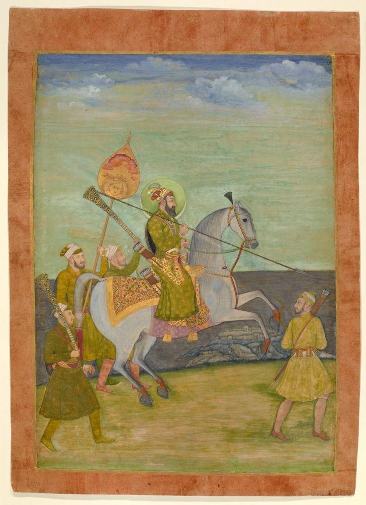 Bahadur Shah I as a Young Man