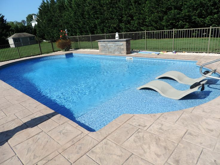 gallery inground pools toms river nj swimming pool spas ocean county nj - Rectangle Pool Aerial View