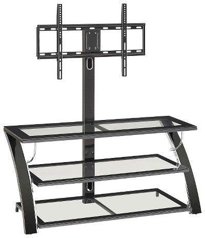 "Whalen Camarillo TV Stand Black 50"""