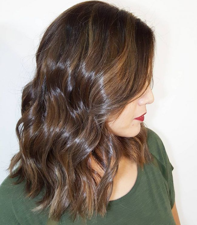 Glossy+Brown+Waves