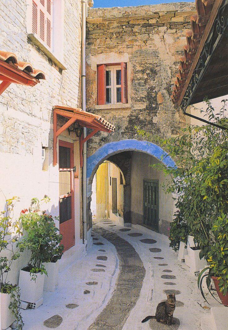 Olympi village - Chios island, Greece