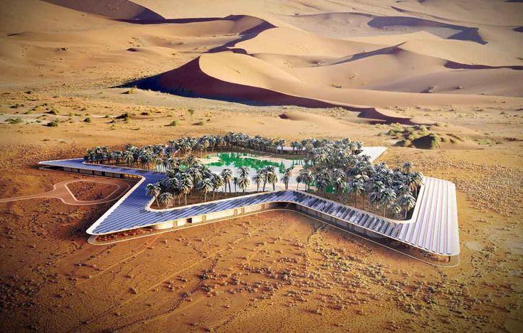 Mimoriadne očakávaný eko-resort v Spojených Arabských Emirátoch