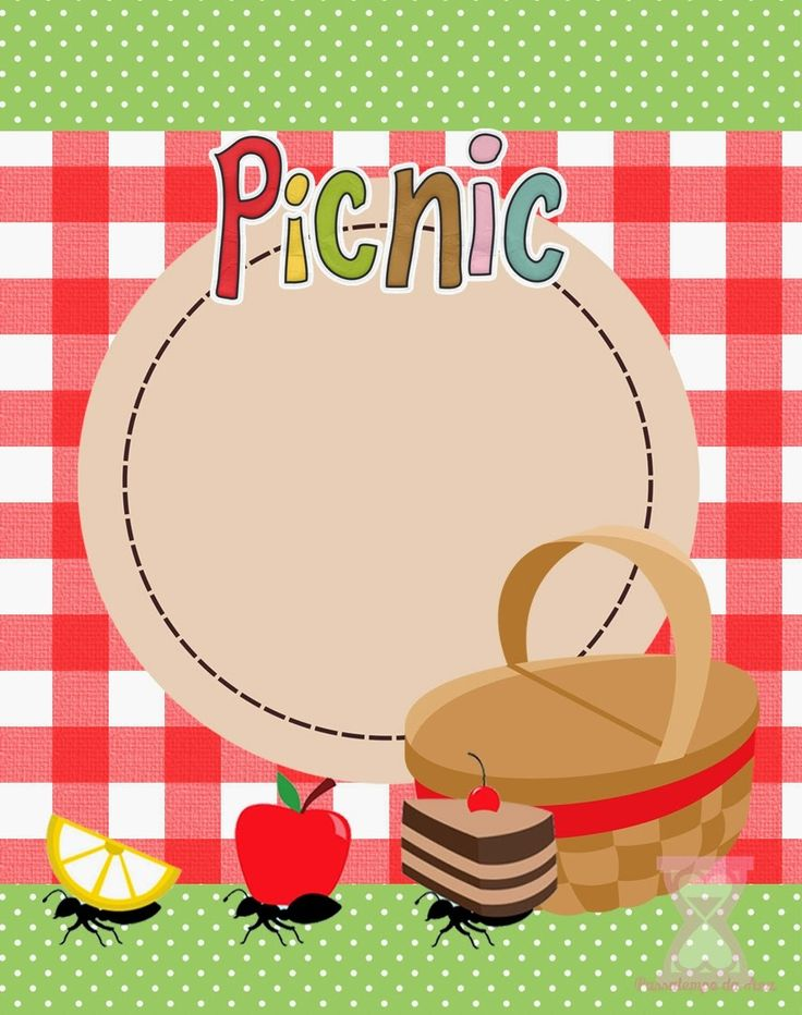 82 Best Picnic Clipart Images On Pinterest Invitations