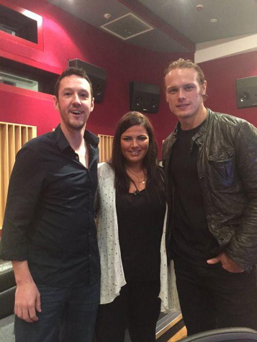 @hayleymatthws @YTArtsScot lovely to speak to Kenny and @SamHeughan about #chrysalis interview on @STVEdinburgh #fountainbridgeshow