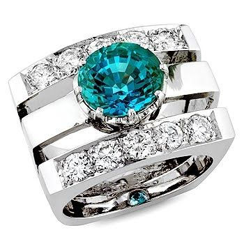Anastasia, a beautiful alexandrite ring