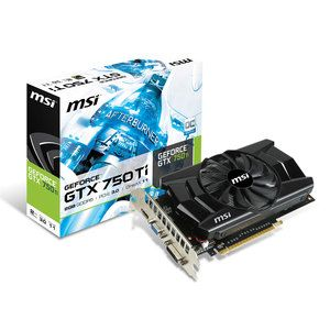 Carte graphique MSI GeForce GTX 750 Ti OC 2GB 139,90 € livré le moins cher #top