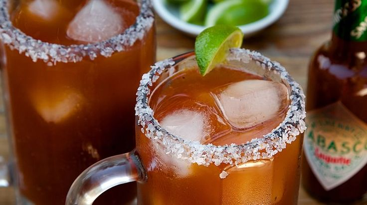 Cielo Rojo Michelada | Recipes | TABASCO.COM  I must try this! If you haven't tasted Budweiser Chelada, you should because they are so good. Thanks to my son for introducing me to them! :-)  I'm hoping these will be as good.