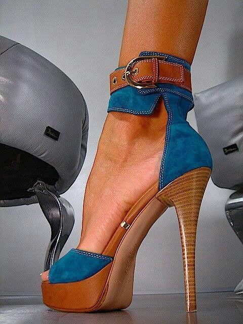 abc43c17754 There is 1 tip to buy these shoes  high heels blue heels platform platform  heels platform wood heel.