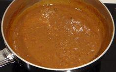 Recept Satesaus van Pindakaas. Heerlijk bij sate of nasi.