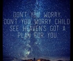 Don't you worry.