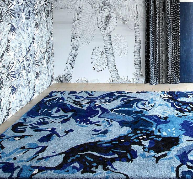 les 25 meilleures id es de la cat gorie chambre bleu minuit sur pinterest chambre bleue. Black Bedroom Furniture Sets. Home Design Ideas