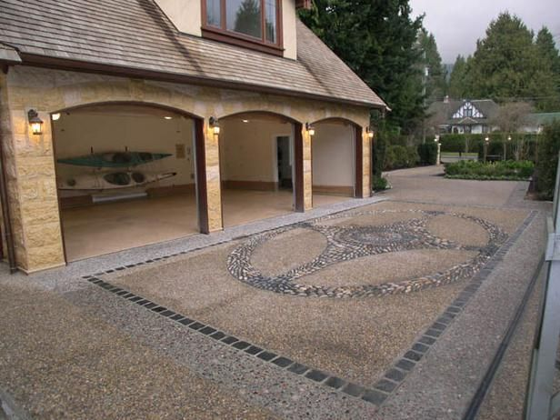 17 best images about aggregate on pinterest water house for Best way to clean concrete driveway without pressure washer