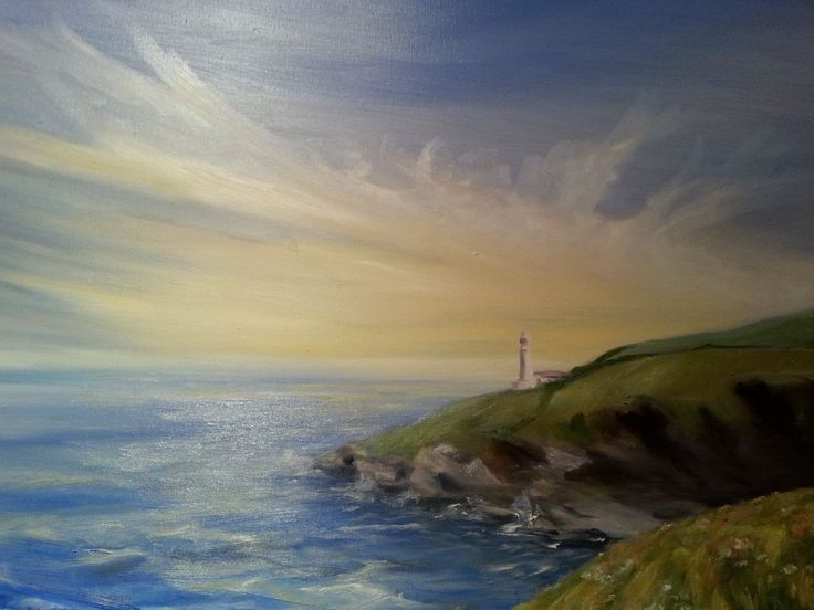 Trevose Head Lighthouse by Anna Corns