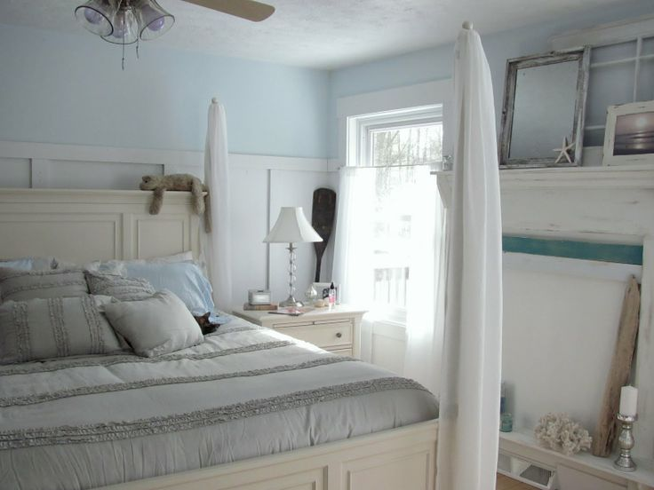 Itu0027s Really Cool How Little It Takes To Achieve That Perfect Beachy Vibe In  Your Bedroom