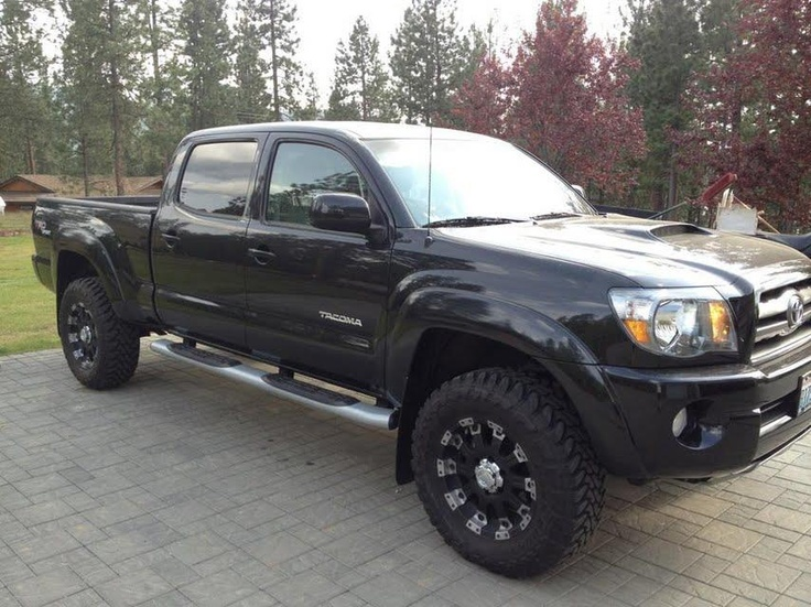 """2010 Toyota Tacoma Double Cab TRD Sport Long Bed v6 4x4 SR5. Every factory option including the TRD catback exhaust, TRD airfilter, JBL system with sub, backup Cam, etc. Some aftermarket options including lift, 33"" Toyo mud terrains, aftermarket wheels, running boards, and more."""