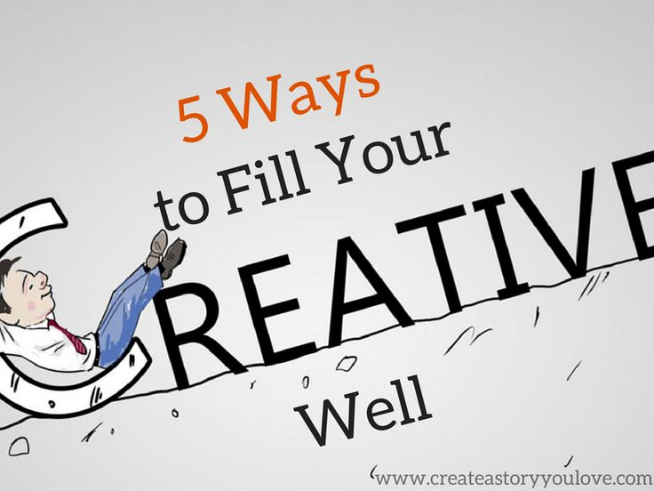 5 Ways to Fill Your Creative Well by Lorna Faith