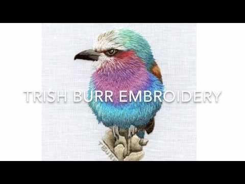 Irregular Long & short stitch part four by Trish Burr - YouTube