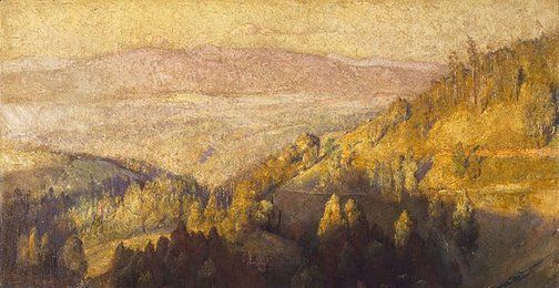 In the Shadow of the Hills - Tom Roberts