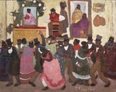 Pedro Figari (Uruguay,1861-1938) – Candombe (1924)  Roque Freire Collection