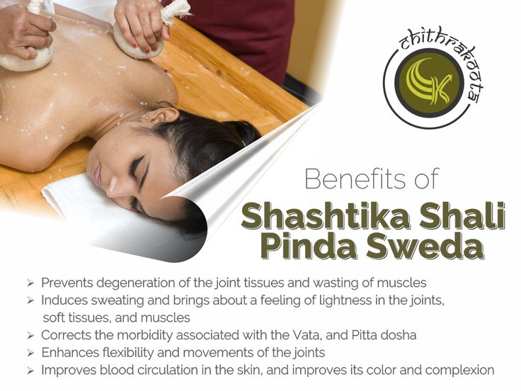 Shashtika Shali Pinda Sweda is a form of sweat-inducing #massage #treatment in Ayurveda. It is used to improve #Muscle strength, #rejuvenate, and #reenergize body. Here, #milk and #rice are mainly used.  Milk is a well-known #nutrient to us, so is rice.  #ShashtikaShaliPindaSweda #Mangalore #Ayurveda #Treatment #Resort  For More Details Contact: www.chithrakoota.com 9480011578