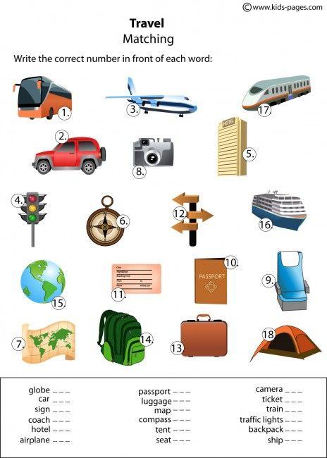 dts travel worksheet. Black Bedroom Furniture Sets. Home Design Ideas
