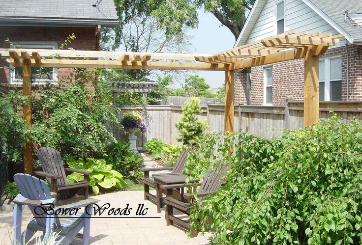 Best 25+ Rustic pergola ideas on Pinterest | Small garden ...