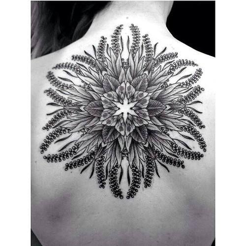 Floral Mandala by Jaya, Empire Tattoo. Adelaide, Australia.