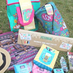 Funky Festival Camping Essentials From Home Bargains