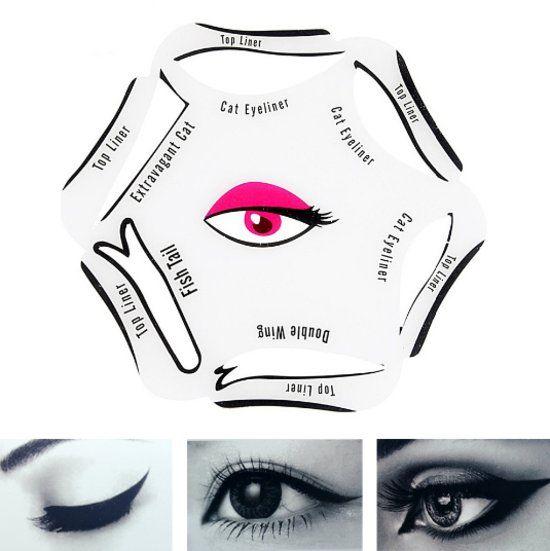 Empaza eyeliner stencil - Eenvoudig eyeliner aanbrengen!