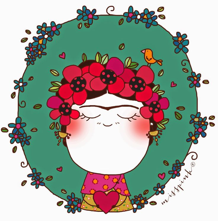 misspink: La gran Frida Kahlo