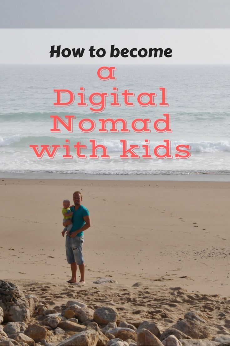 Want to travel full-time with your children? This is my step by step guide on how to become a digital nomad with kids!