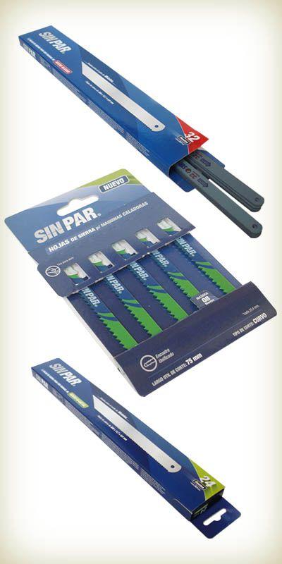 Sistima Eco Packs para sierras de corte de Sin Par S.A. distinguida con el Sello de Buen Diseño argentino 2011.