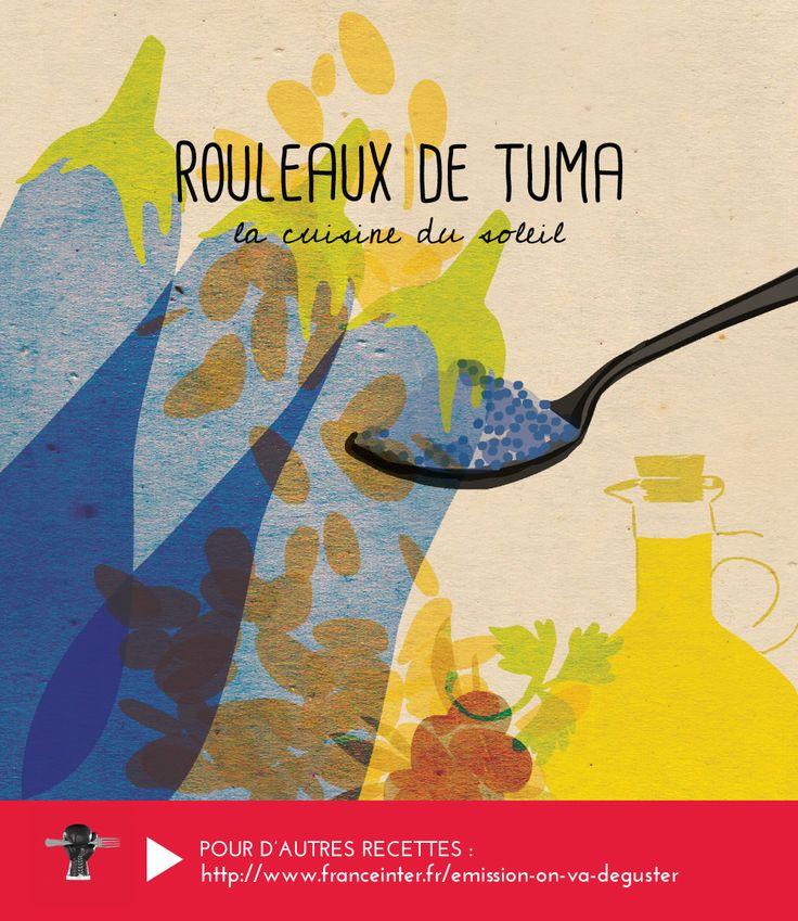 """ROULEAUX DE TUMA : la cuisine du soleil de Sicile dans votre assiette ! Une recette d'Elisia Menduni présentée dans """"On va déguster"""" sur France Inter - RECETTE ICI : http://www.franceinter.fr/emission-on-va-deguster-cuisine-du-soleil-5-eme-volet-la-sicile"""
