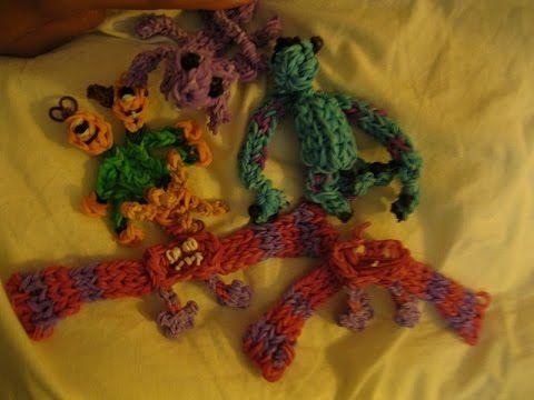Art (Monsters University) Loom Tutorial Part 1 (Arms and Legs)