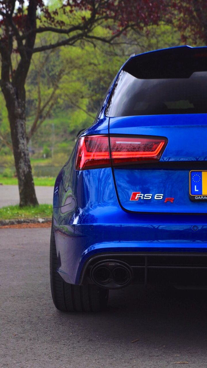 Audi rs6 r mtm with over 750 hp