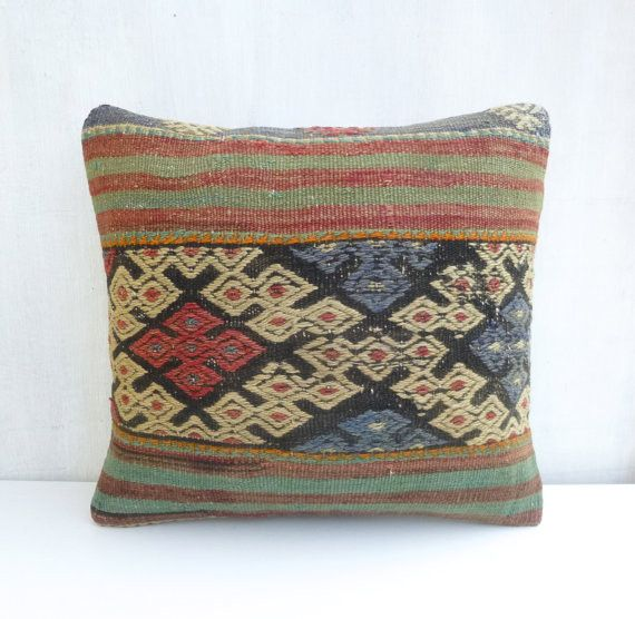 Decorative Ethnic Kilim Pillow