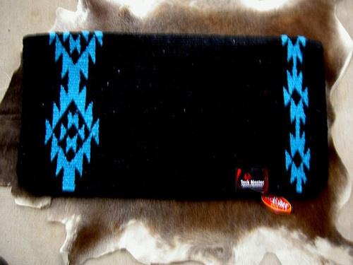 Horse Wool Classic Western Show Trail Saddle Blanket Pad Rodeo Turquoise SBC158 | eBay $54
